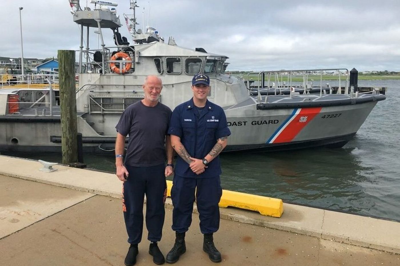 Coast Guard rescues would-be trans-Atlantic rower off New Jersey coast