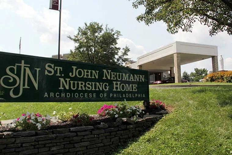 St. John Neumann Home on Roosevelt Boulevard.