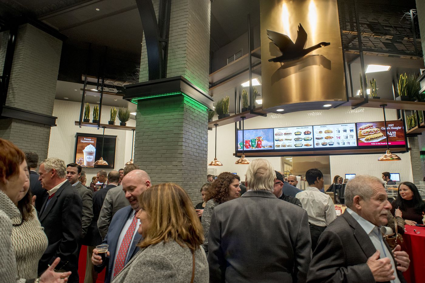 New Wawa, the biggest yet, opens to cheers in Philadelphia's Center City