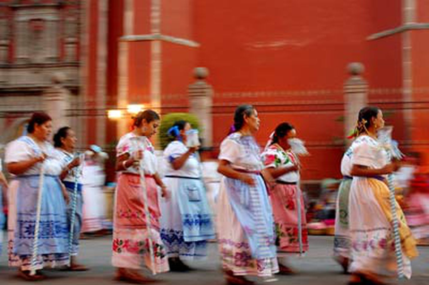 In Mexico, once a turbulent town