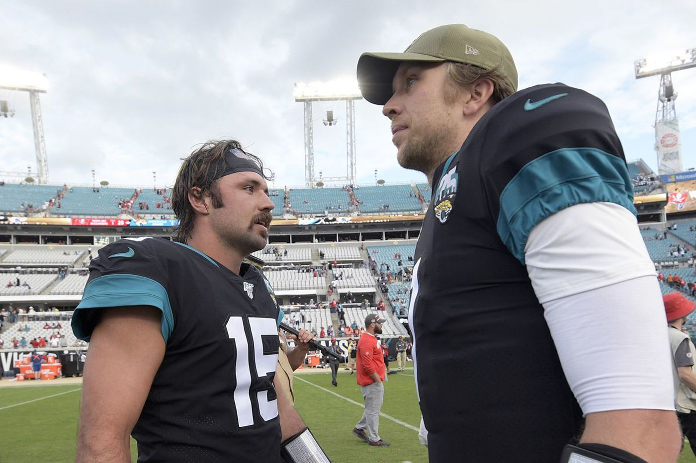 Nick Foles has suddenly become a huge problem for the Jaguars
