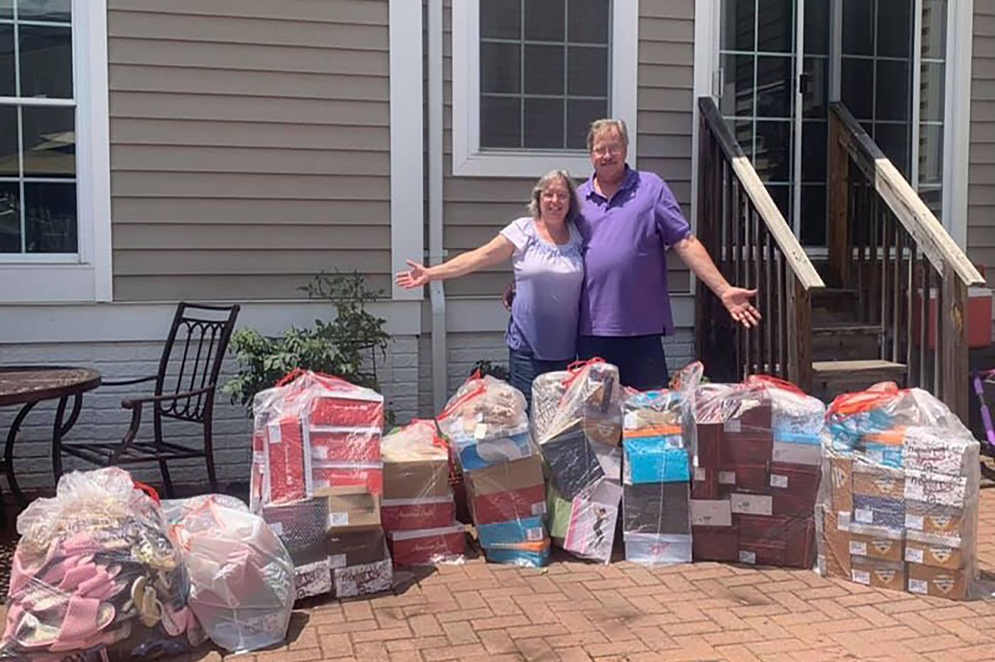 This N.J. couple bought all the shoes in a Payless store - then donated them to charity