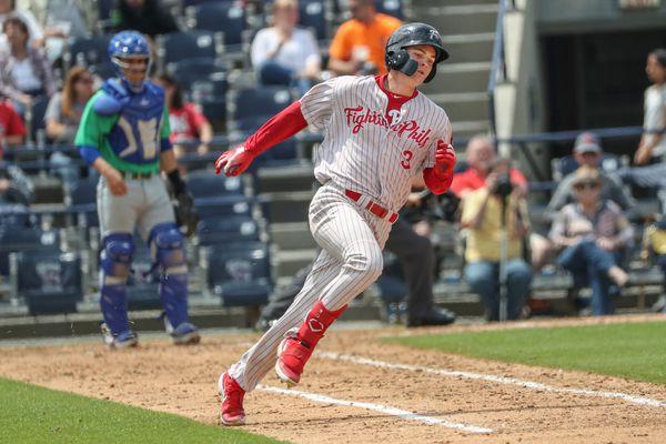 Mickey Moniak, the Phillies' 2016 No. 1 draft pick, is still working toward his major league breakthrough