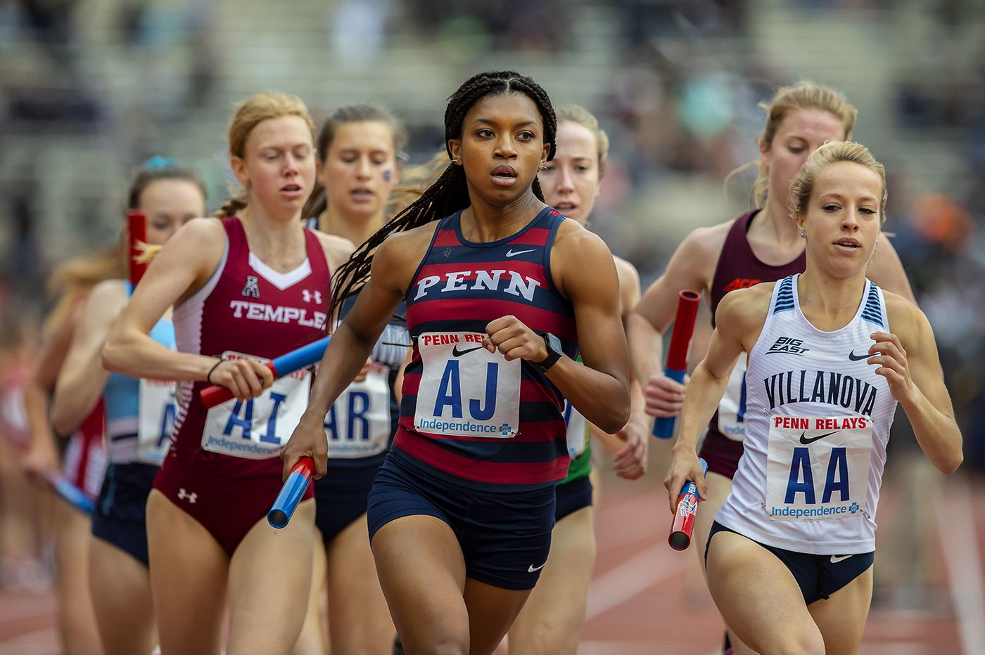 Penn's Nia Akins a top national-championship contender at 800 meters