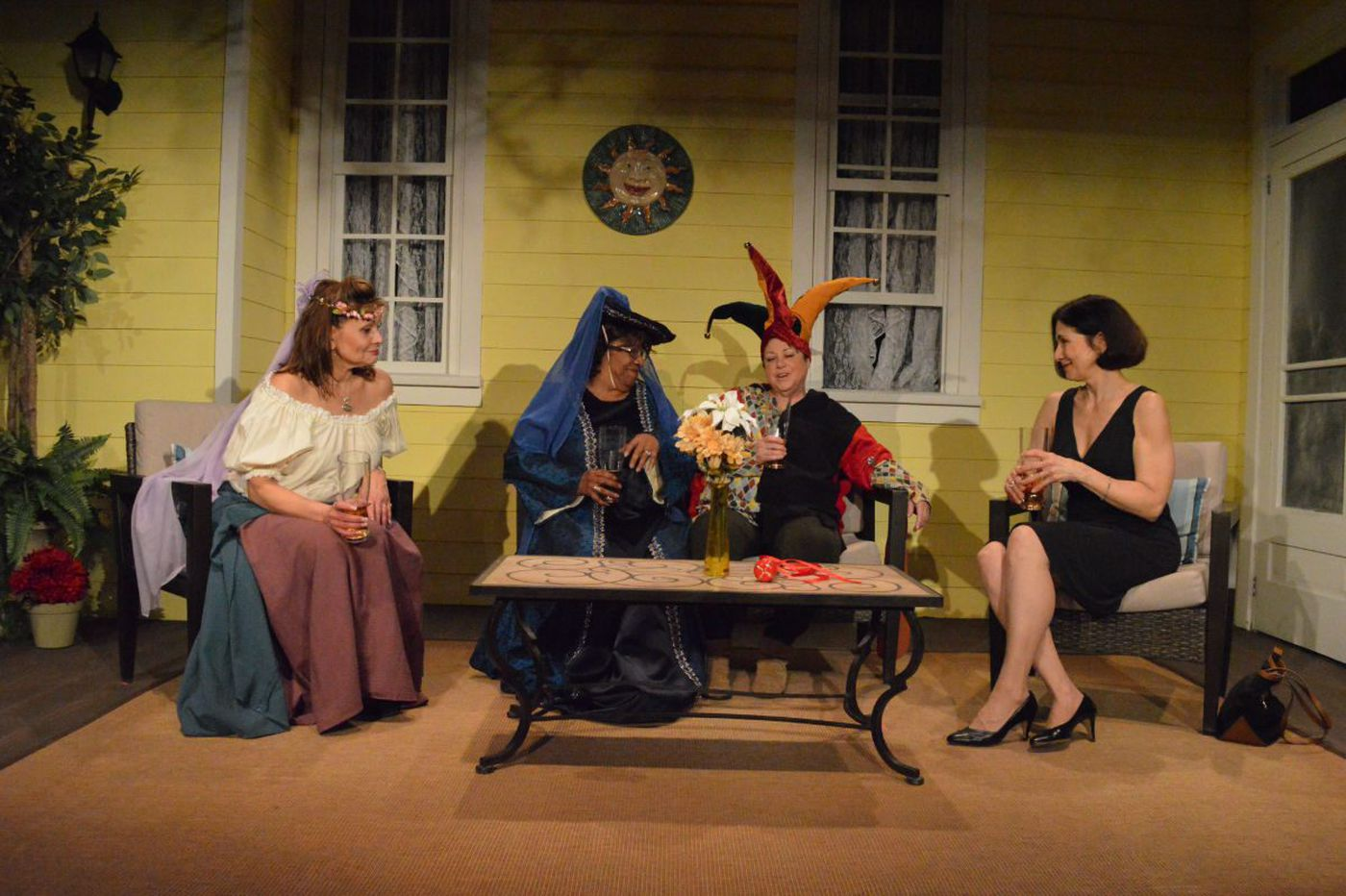 'Savannah Sipping Society' at South Camden Theatre Company: Losses, laughs, flubs, and four likable women