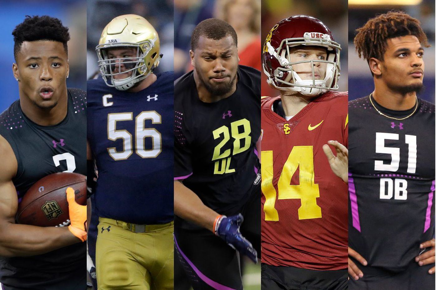NFL draft: Ranking the top 50 players | Paul Domowitch