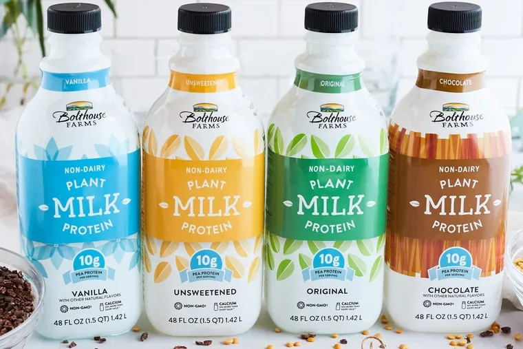 Bolthouse Farms plant protein milk is among the products the Campbell Soup Co. is looking to for faster growth than it gets from its canned-soup staples.