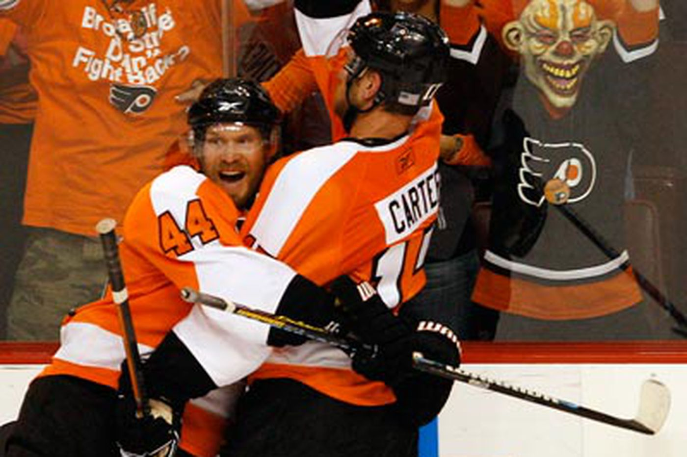 In the clutch, Flyers found a higher gear