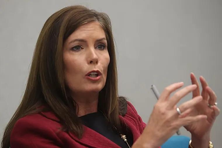 Attorney General Kathleen Kane. (MICHAEL BRYANT / Staff Photographer)