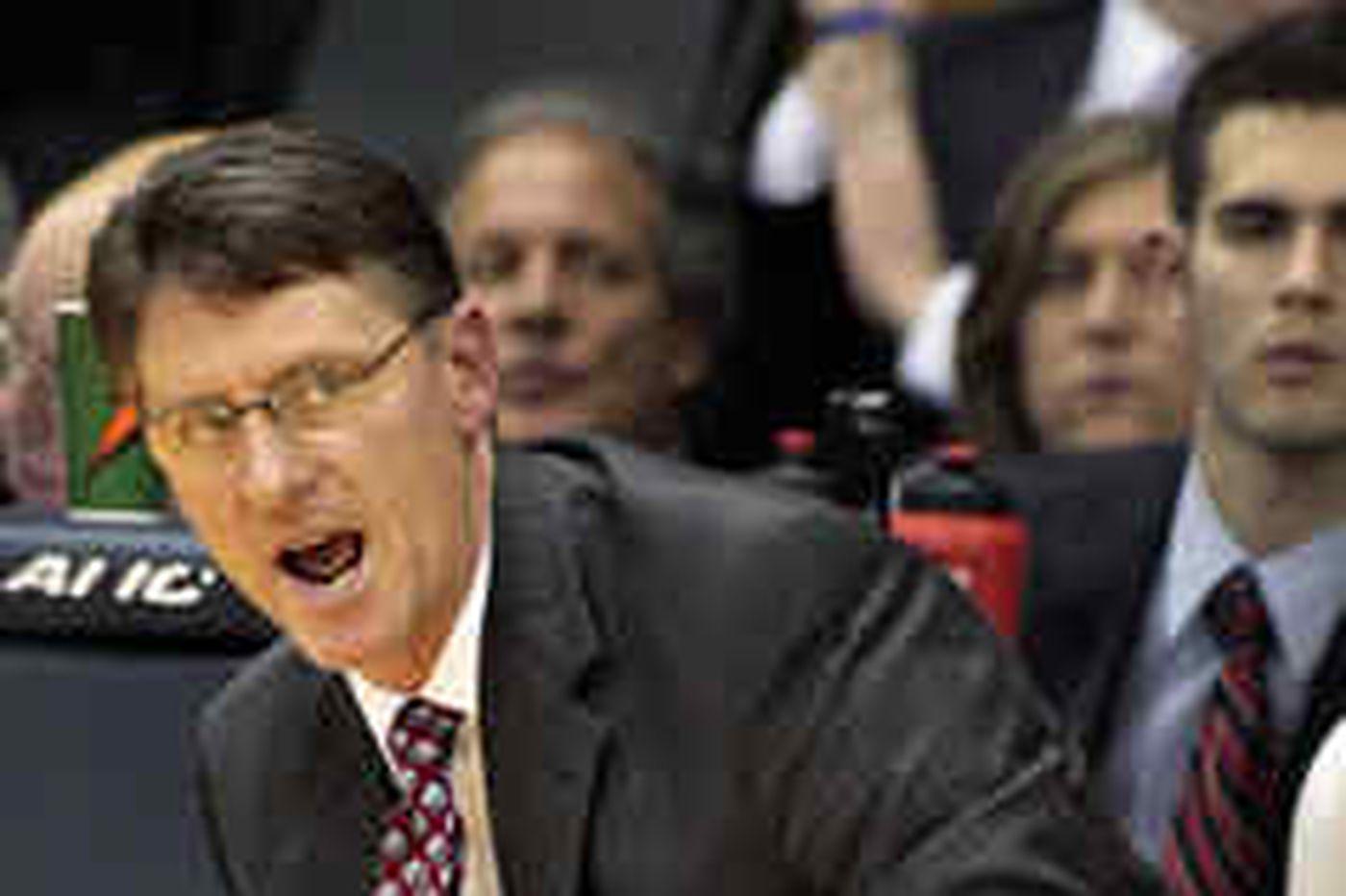 Penn fires basketball coach Glen Miller