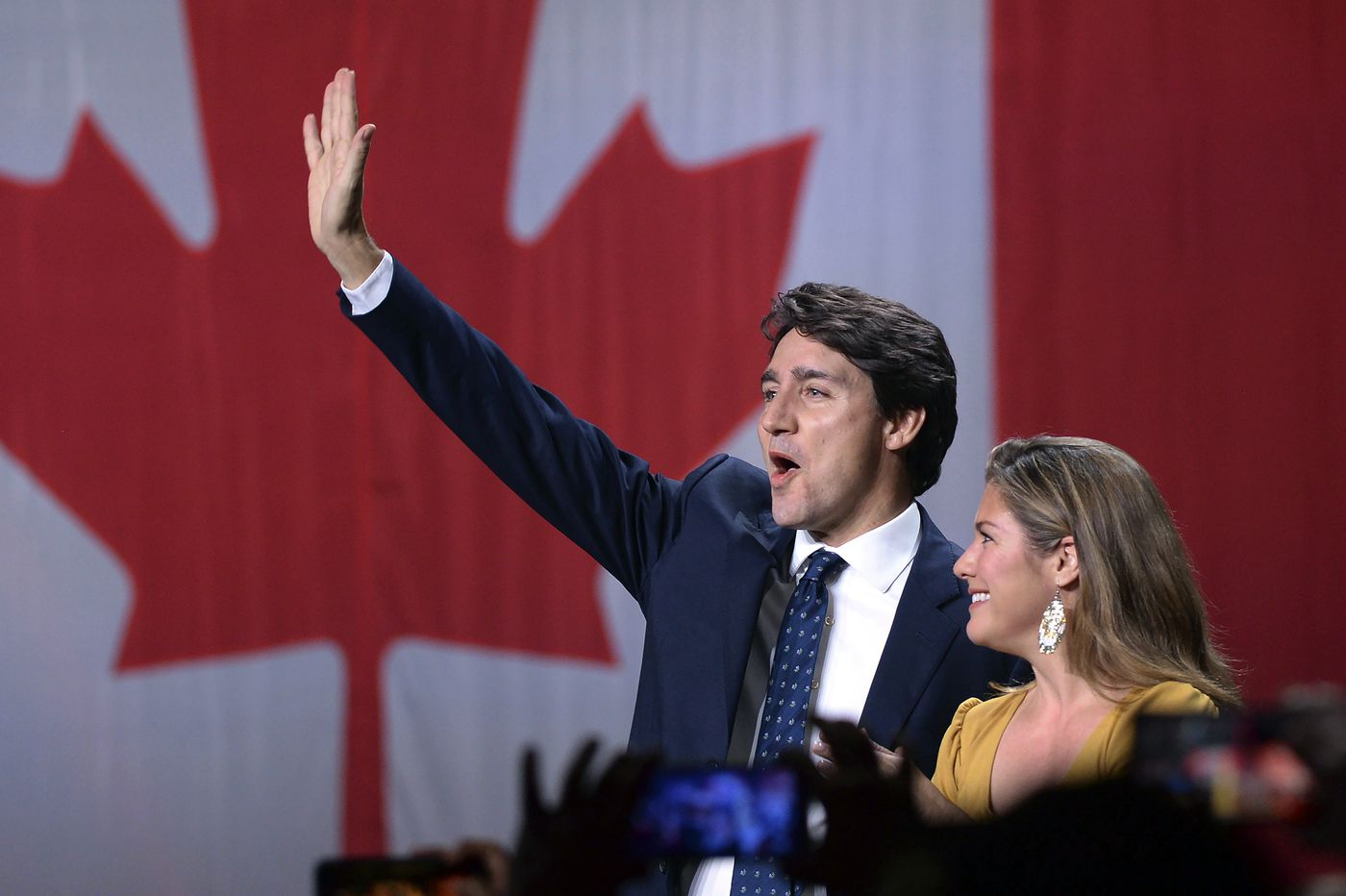 Canadian Prime Minister Justin Trudeau wins second term but loses majority