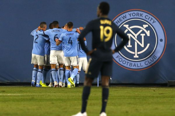 David Villa, New York City FC blow Union out of MLS playoffs in first round with 3-1 rout