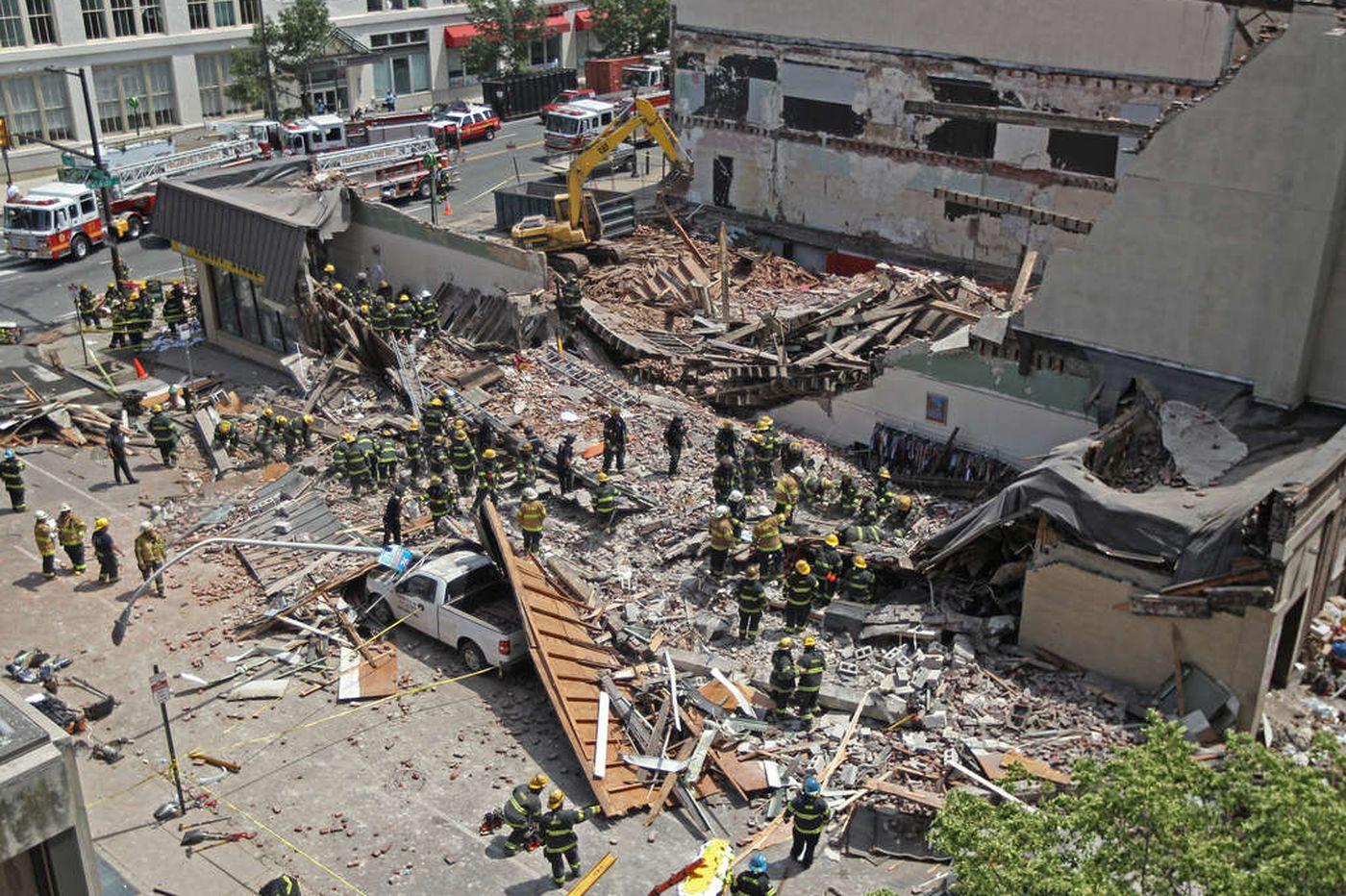 Brandywine Realty Trust buys Market Street block hit by building collapse
