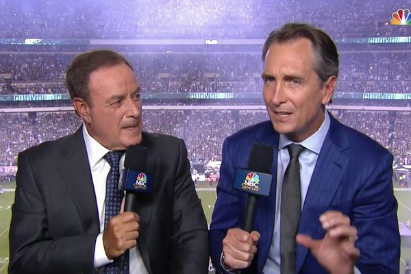 NBC's Cris Collinsworth loves Eagles fans, thinks Birds have a 'big chance' to beat the Seahawks
