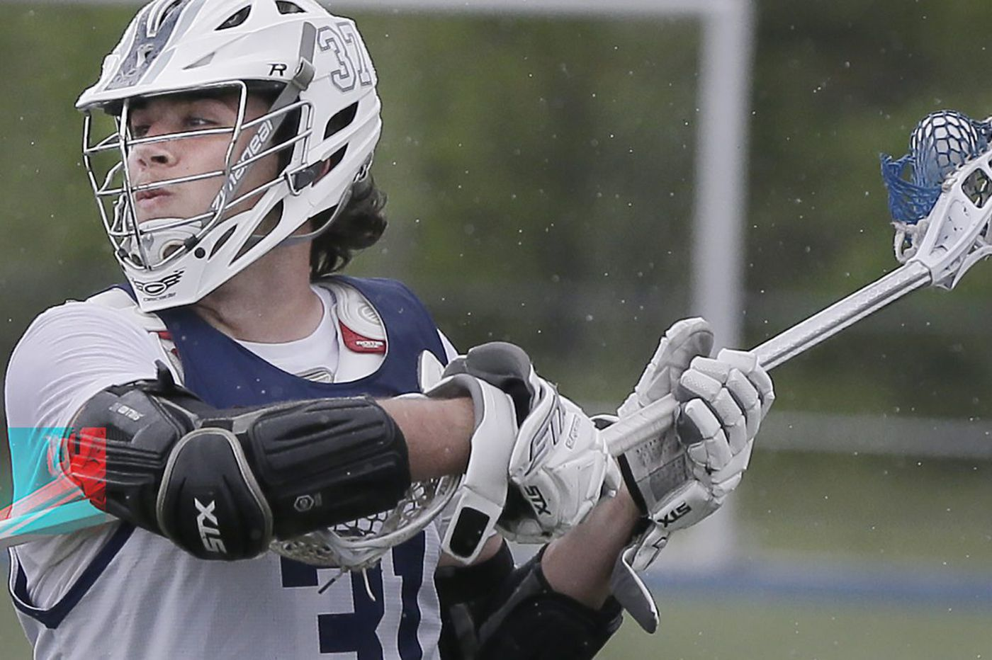 St. Augustine's David Burr found lacrosse by accident