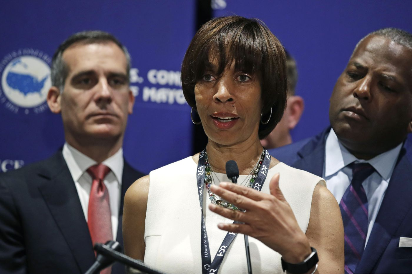 Baltimore mayor flees state after feds raid her home
