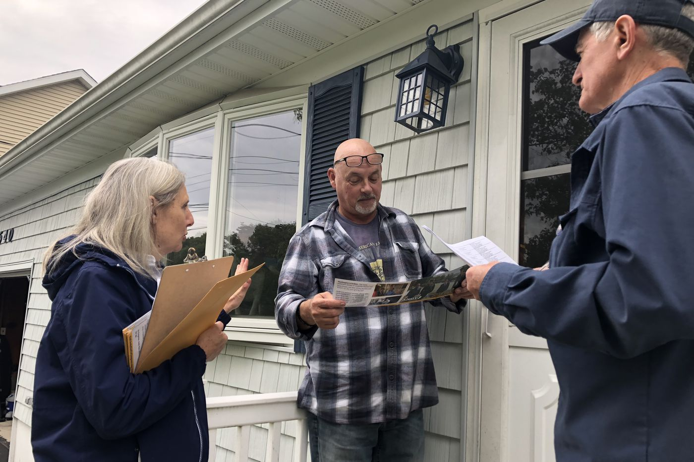 Political canvassers take to the streets, Eagles give up lead to Panthers | Morning Newsletter