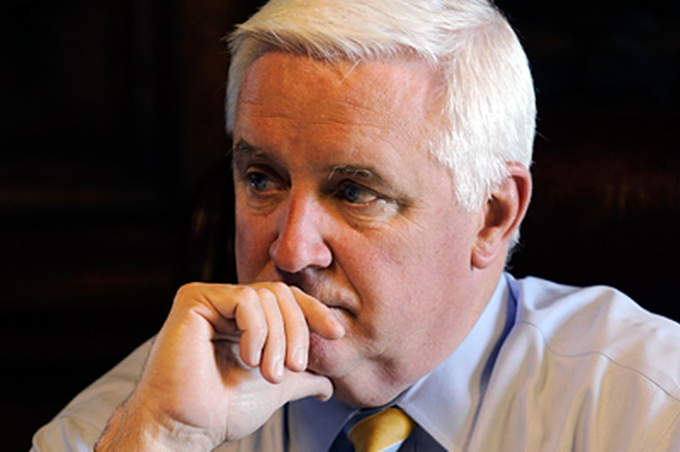 Corbett says he has an open mind on apportioning electoral votes