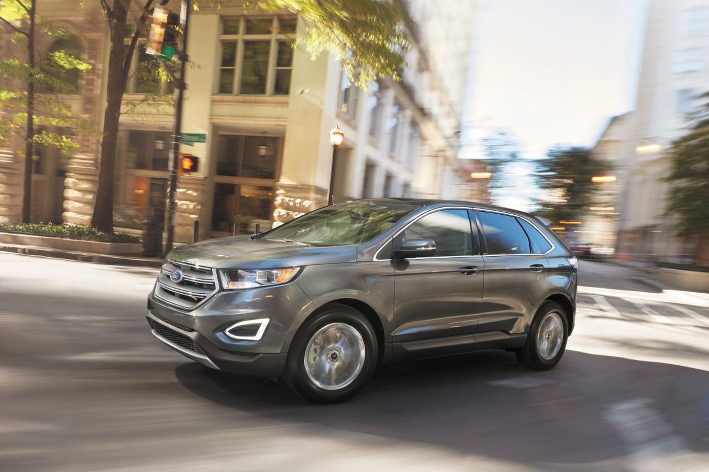 Ford edge is a spacious drivable crossover