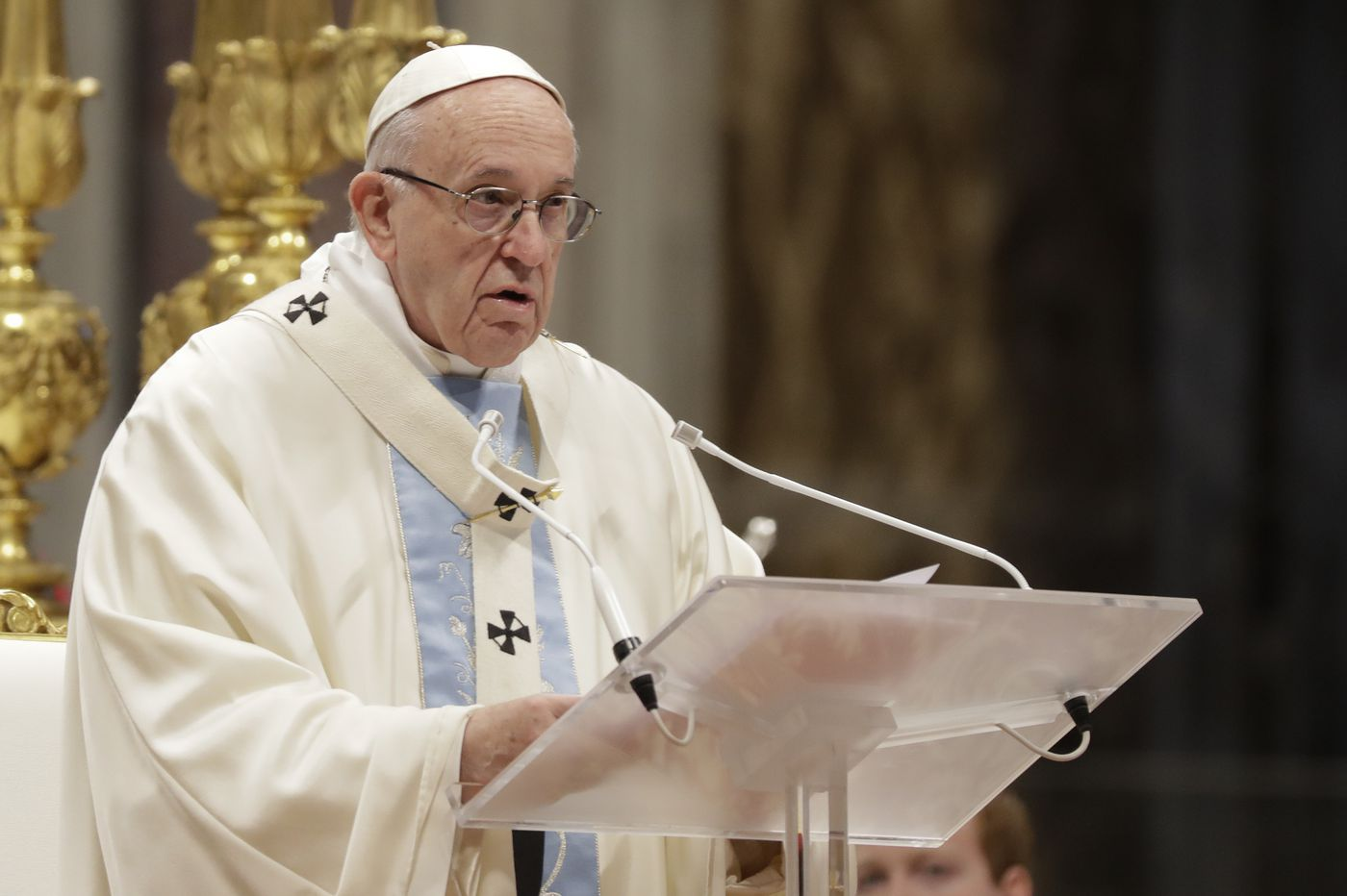 Pope Francis tells U.S. bishops: Committees and 'flow charts' won't solve sex-abuse crisis