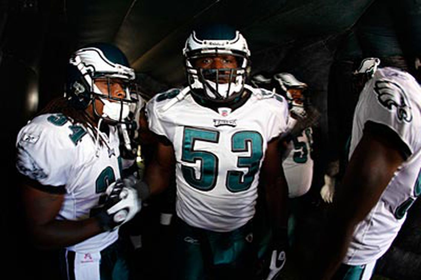 Paul Domowitch: Fokou a prominent face in crowd for Eagles this year