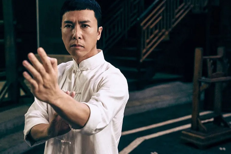 """Donnie Yen's dazzling martial-arts moves are one of the strong points of """"Ip Man 3,"""" about the man who mentored Bruce Lee."""