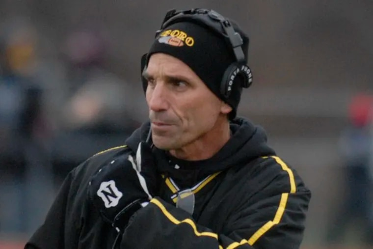 Glassboro head coach Herb Neilio guided his Bulldogs to a 12-0 record and a second straight South Jersey Group 1 crown.