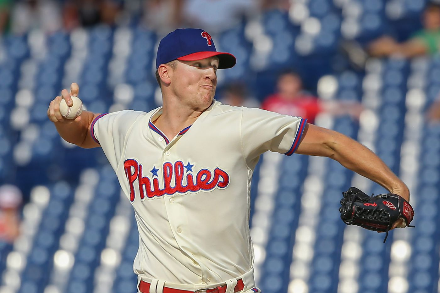Nick Pivetta brought relief to Phillies' bullpen in 13th inning vs. Nationals