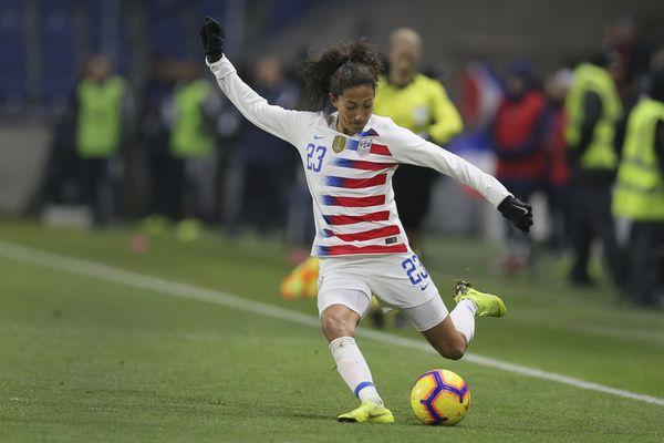 Christen Press goal gives U.S. women's soccer team 1-0 win over Spain