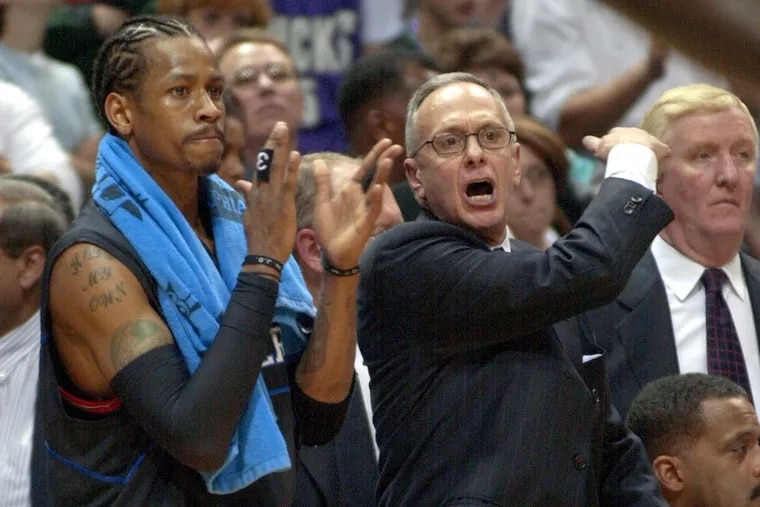 Larry Brown finally made it to the NBA Finals in 2001 as the Sixers' coach.