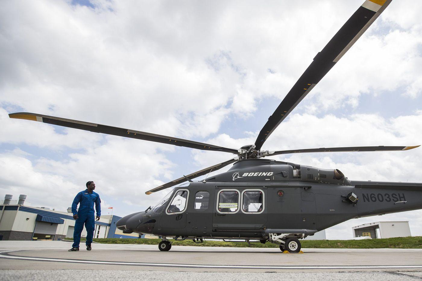 Helicopter maker Leonardo adds 166 jobs, $65 million training center in Northeast Philadelphia