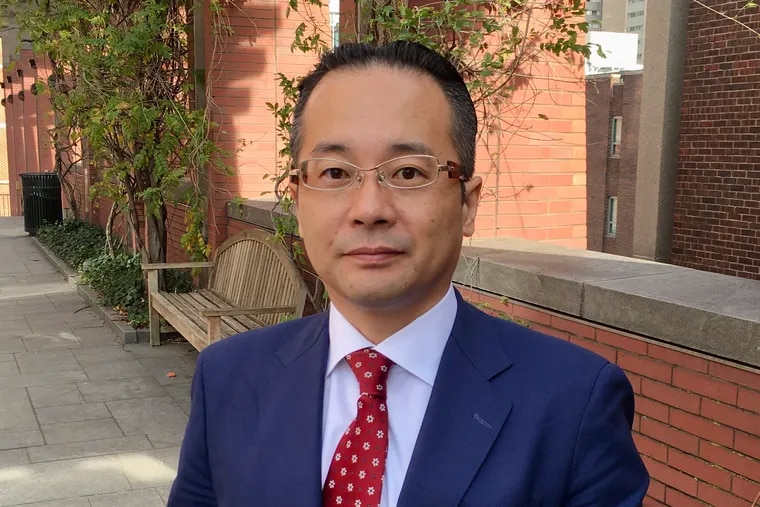 Naoki Matsuoka, of Osaka, Japan, is visiting corporate governance specialists in Pennsylvania, Delaware, and New York as he helps concerned investors set up a shareholders' reform campaign targeting leaders of Sekisui House, a big Japan-based international homebuilder.