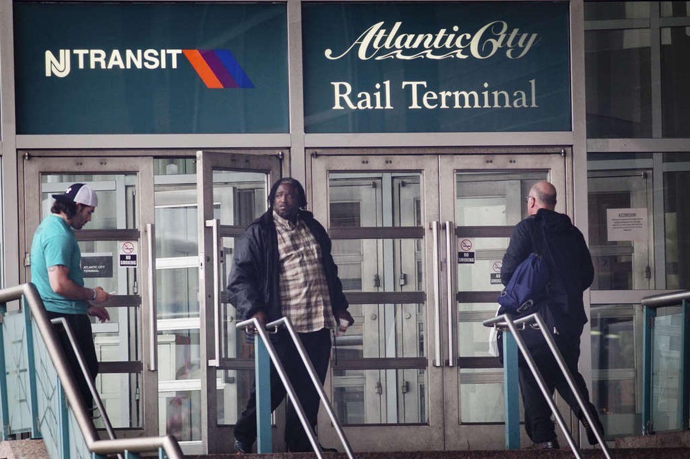 Get Atlantic City rail line back on track | Editorial