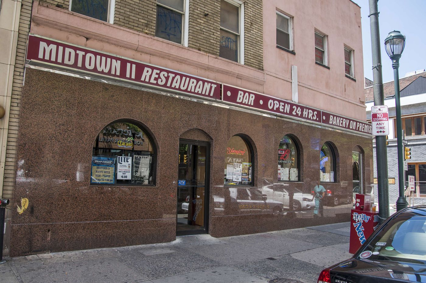 Greek restaurant to open in a new hotel replacing the Midtown II Diner
