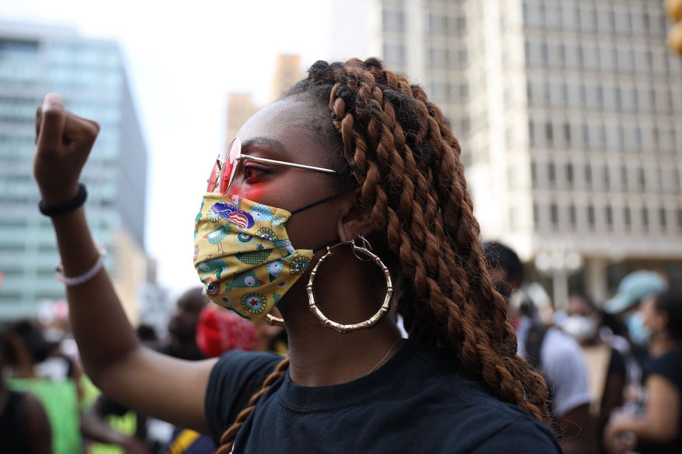 Masks, Mass, and marches on Philly region's first weekend in the yellow phase