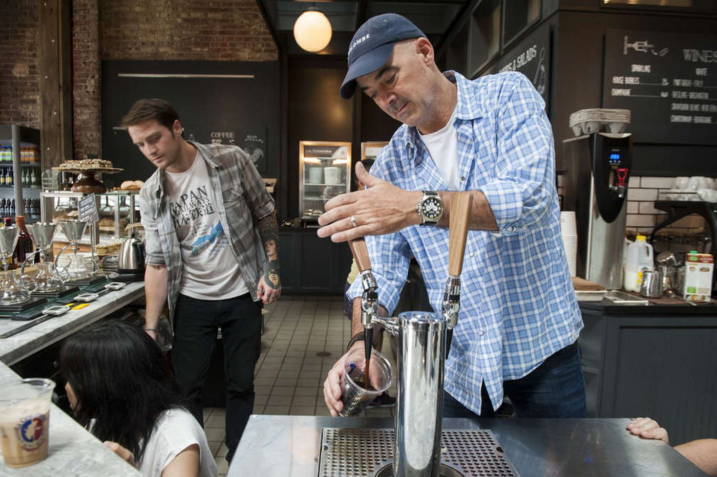 Philly's La Colombe offered free coffee Friday as it launched its first ad campaign