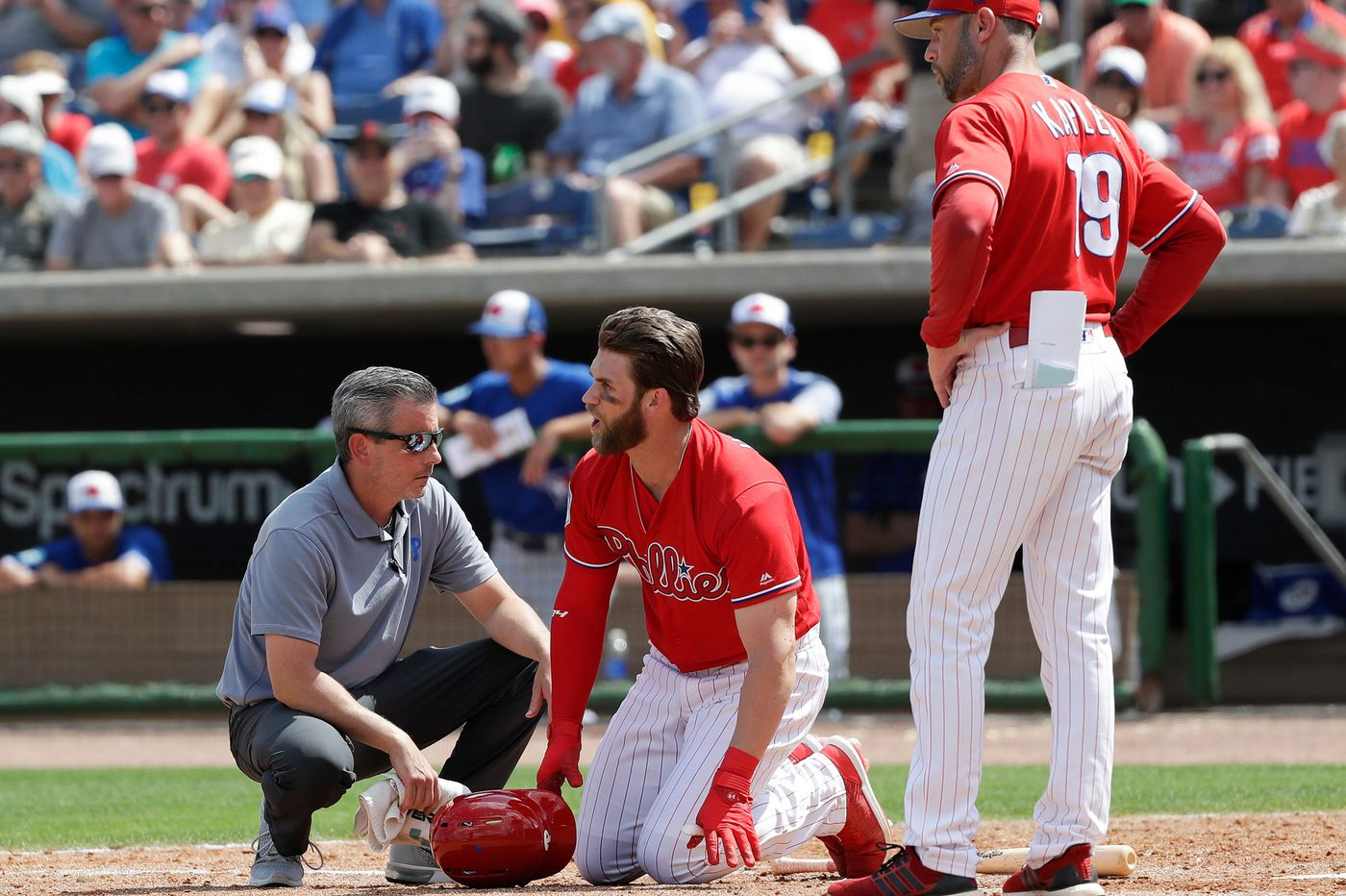 Bryce Harper's at-bats, Jake Arrieta's starts are big Phillies storylines in final week of spring training | Extra Innings