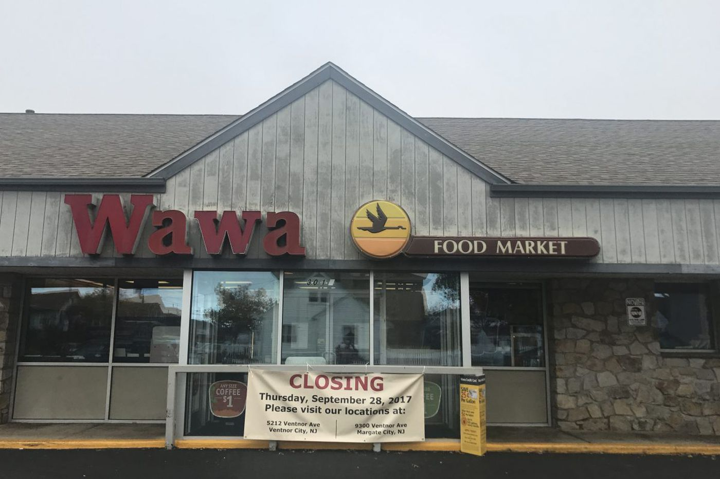 Shore town bids 'somber' farewell to a beloved Wawa