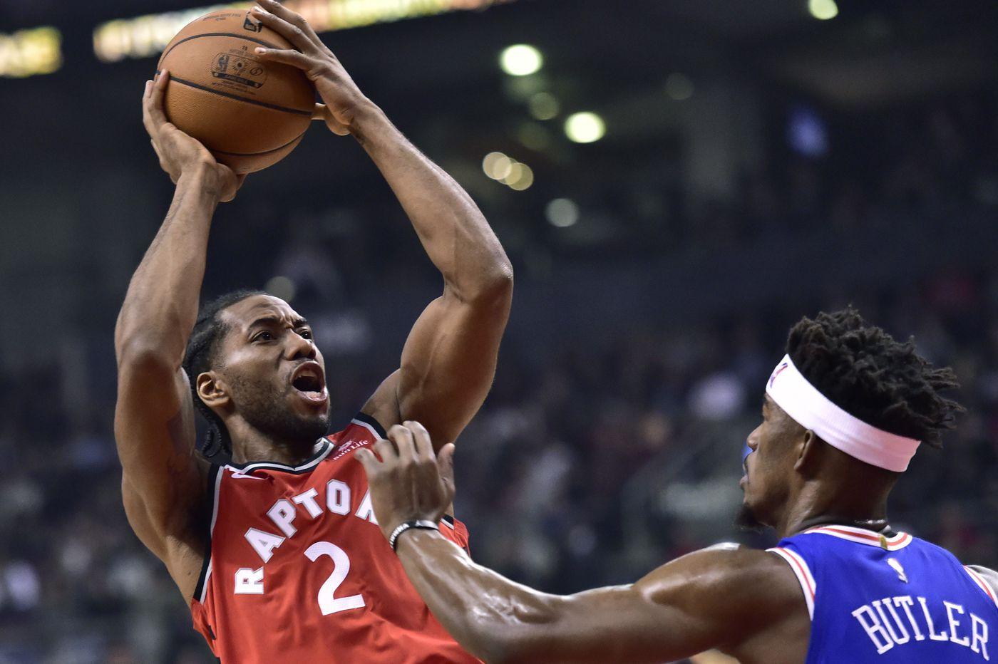 Sixers-Raptors observations: Joel Embiid's struggles, team's lack of depth, defensive mismatches