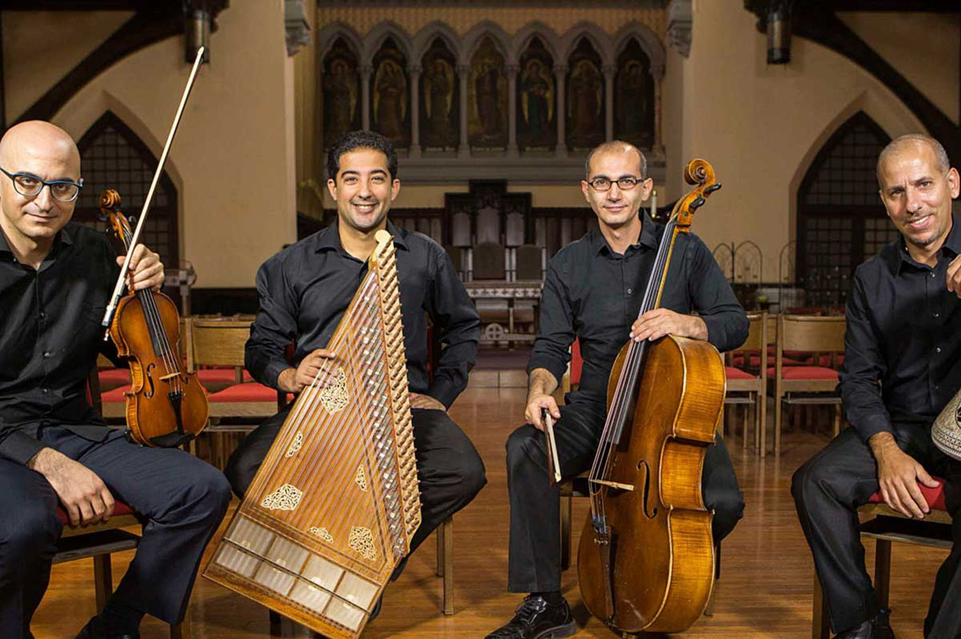 Two pieces fuse Arab and Western music