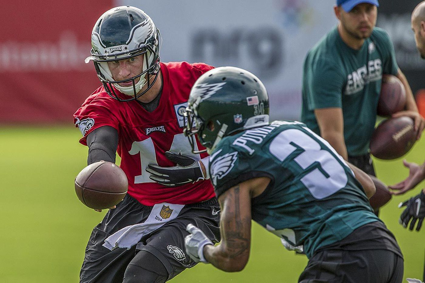 Eagles practice observations: Highlights from Day 1