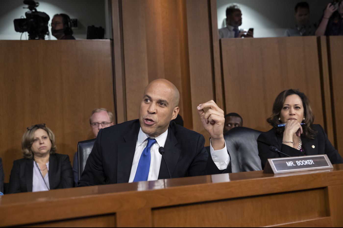 'So much is at stake': Why Cory Booker has shed his nice guy image in Brett Kavanaugh hearings