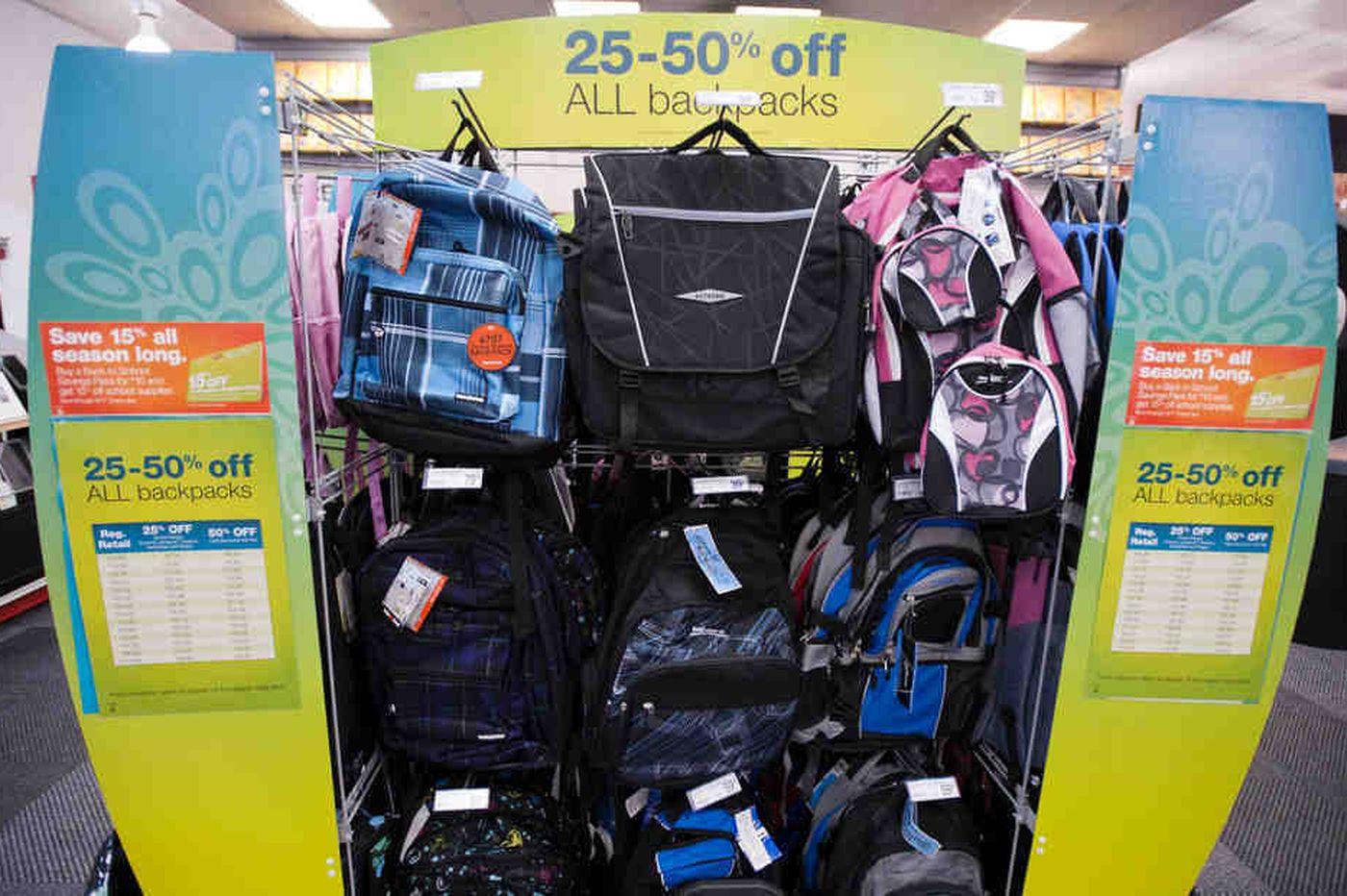 Jeff Gelles: Ace back-to-school shopping
