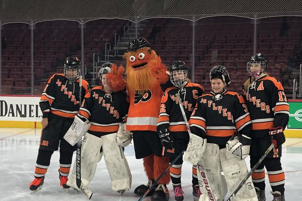 Flyers hosted second annual Hockey for Her event