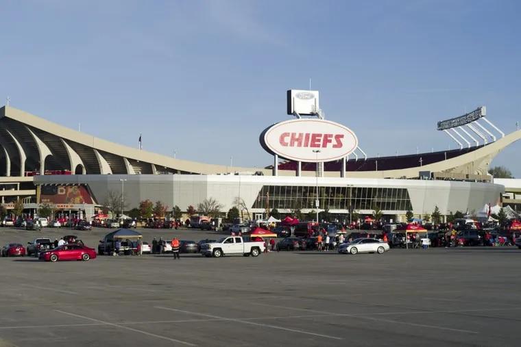 Arrowhead Stadium, home of the Kansas City Chiefs.