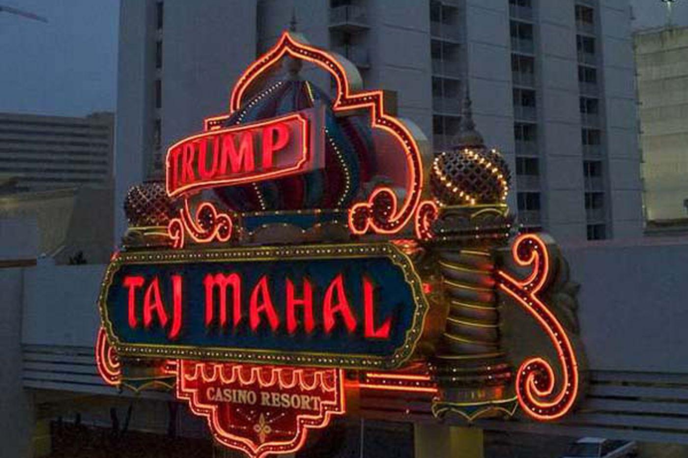 N.J. issues Taj Mahal closing plan