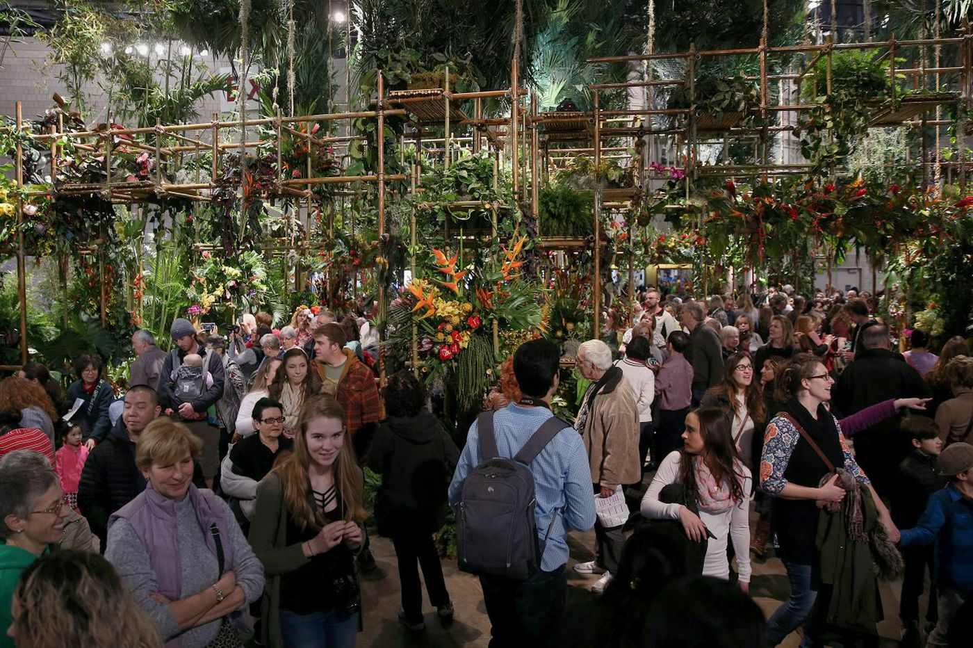 The Flower Show will remain open despite winter storm forecast