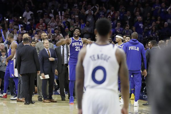 Joel Embiid a level above Karl-Anthony Towns, and other observations from Sixers win over Timberwolves