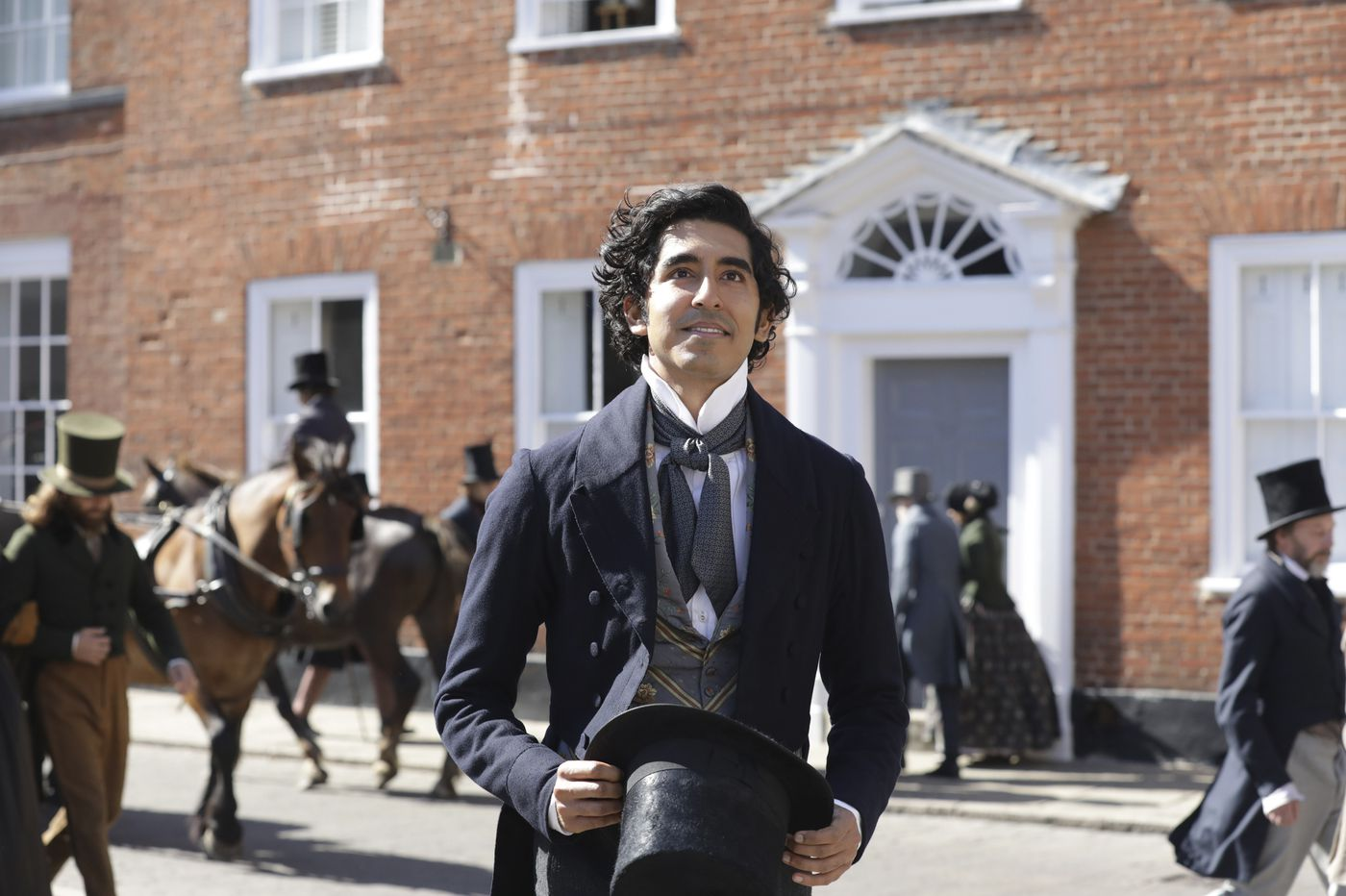 Dev Patel is now starring as Dickens' David Copperfield — from the creator of 'Veep'