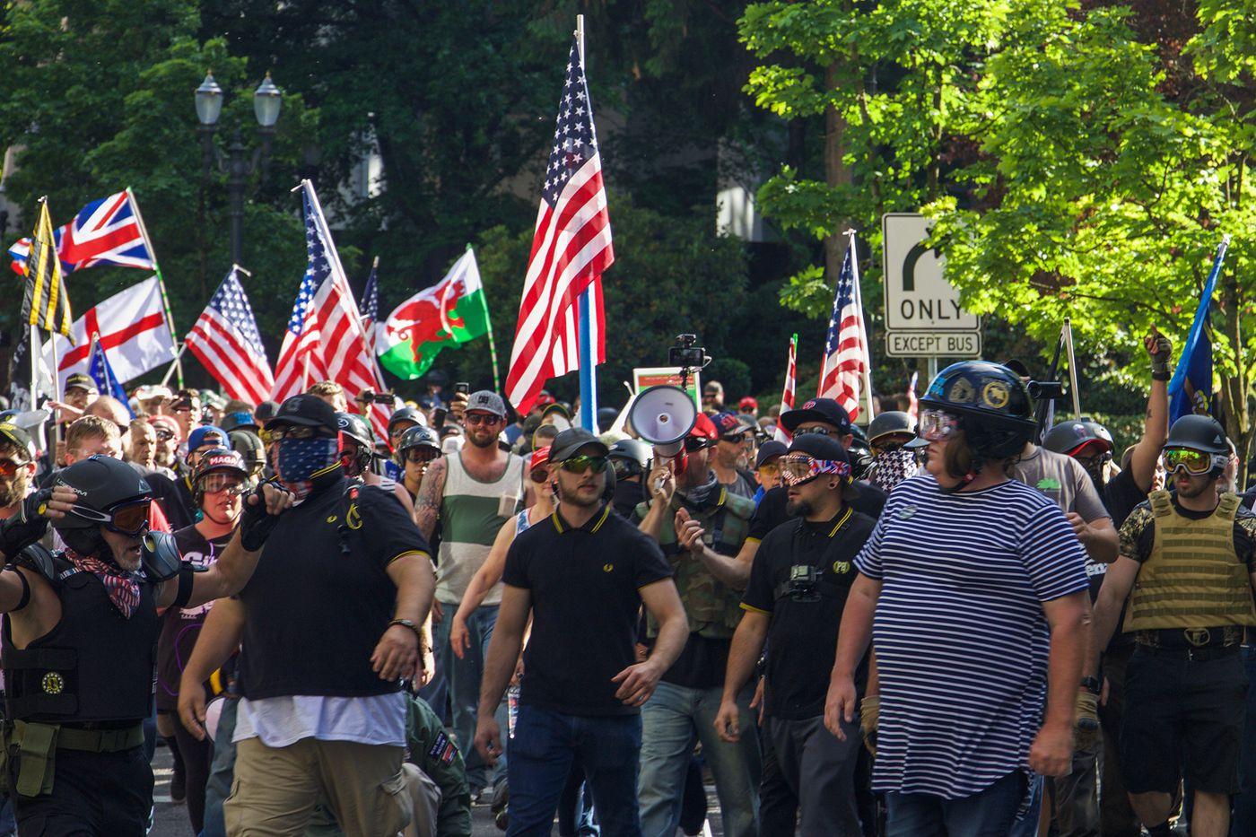 Group organizing pro-America, pro-Trump rally says it won't tolerate racists